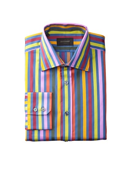 Duchamp Men's Kluklos Stripe Shirt