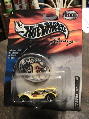 Hot Wheels 2001 Racing The Demon #22 Caterpiller 2/4 in A Series Collector Car - 1