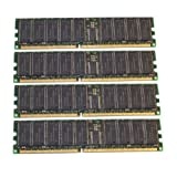(NOT FOR PC/MAC!!) 4GB 4x1GB memory Intel SE7501WV2 Mainboard DDR-266 PC-2100 ECC REG Not for PC (Tamaño: 4 Gb)