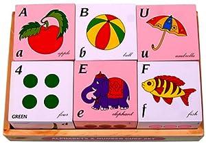 Little Genius Alphabets and Number Cube Set, Multi Color