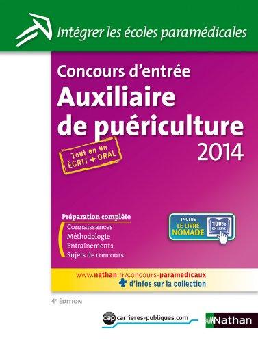Concours d'entrée Auxiliaire de puériculture 2014