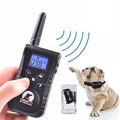 OYang 500 yd Rechargeable Rainproof Remote Dog Training Collar Beep Vibration Shock E-collar UK