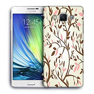 Snoogg vector seamless pattern with spring branches Designer Protective Back Case Cover For Samsung Galaxy ON5