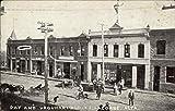 Day and Urquhart Blocks LaCombe, Alberta Original Vintage Postcard