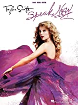 Speak Now Song Book