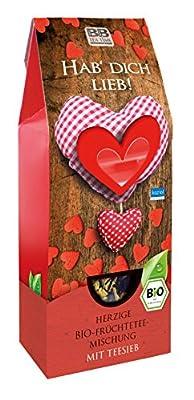 Bio-Früchtetee + Teesieb Hab dich lieb von Bull & Bear AG, Jurastr. 2, 73119 Zell bei Gewürze Shop