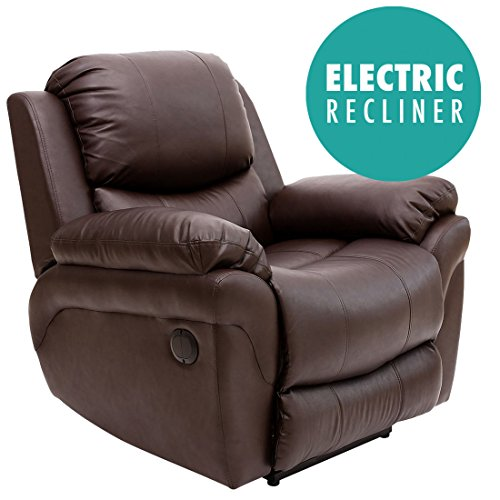 Leather Electric Recliner Sofa Uk