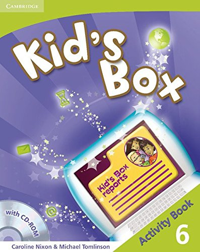 Kid's Box 6 Activity Book with CD-ROM