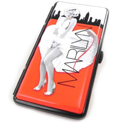 Cigarette pack 'Marilyn Monroe' red white.