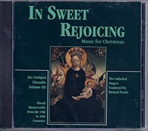In Sweet Rejoicing: Music for Christmas