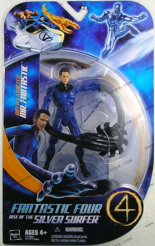 Picture of Hasbro Fantastic 4 Action Figure Battle Stretch Mr. Fantastic (B000M6CWHQ) (Fantastic Four Action Figures)