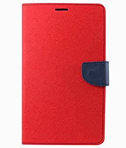 Gadget And Accessories 4u Flip Cover For Samsung Galaxy Star Pro S7262 Red
