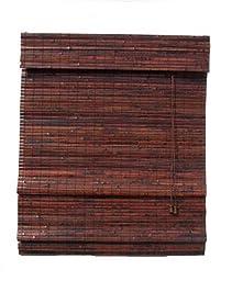 Lewis Hyman 0244571 Kona Roman Shade, 71-Inch Wide by 64-Inch Long, Mahogany