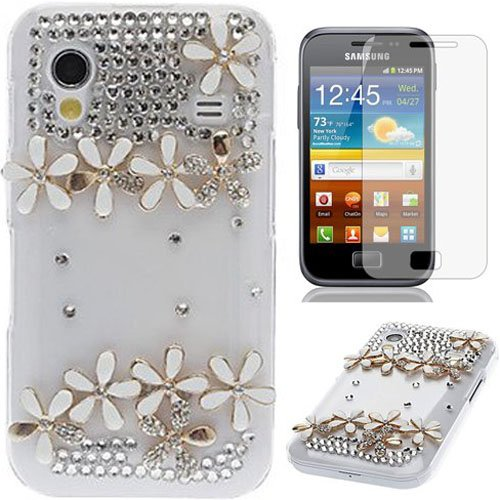semoss-2-in-1-accessory-set-crystal-bling-diamond-flowers-case-cover-with-screen-protector-for-samsu