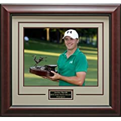 Buy Jordan Speith 2013 John Deere Champion image matted and framed by Signature Royale