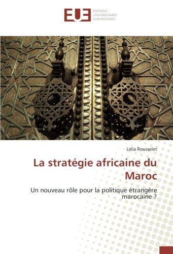 La stratégie africaine du Maroc