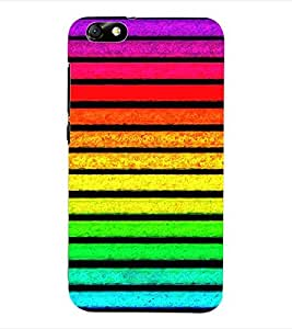 ColourCraft Colour Pattern Back Case Cover for HUAWEI HONOR 4X