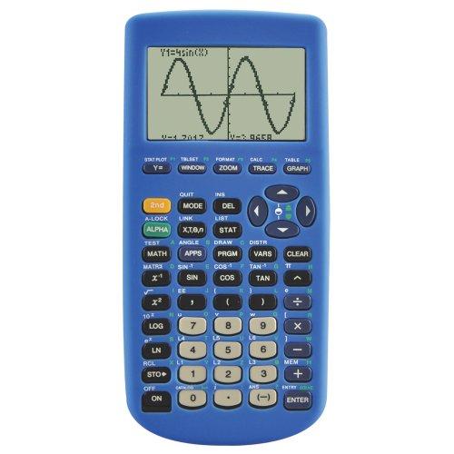 Guerrilla Silicone Case for Texas Instruments TI-83 Plus Graphing Calculator, Blue (Math Calculator Ti 83 compare prices)