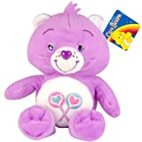 Care Bear 8.5 inch Soft Toy - Wish, Superstar, Harmony, Share, Love a lot, Good Luck (Share Care Bear 8.5 inch Soft Toy)