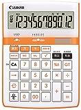 【Amazon.co.jp限定】Canon 電卓 12桁 HS-2200A オレンジ 千万単位表示 時間計算