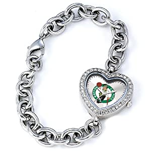 NBA Ladies BH-BOS Heart Collection Boston Celtics Watch by Game Time