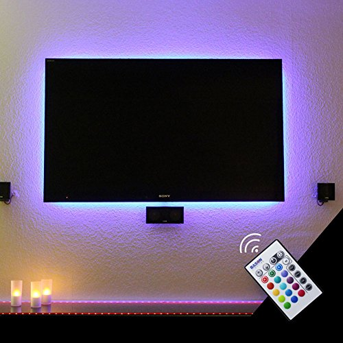 "BASON USB Powered LED TV Backlighting Home Theather lighting for 60"" to 65"" Flat Screen TV"