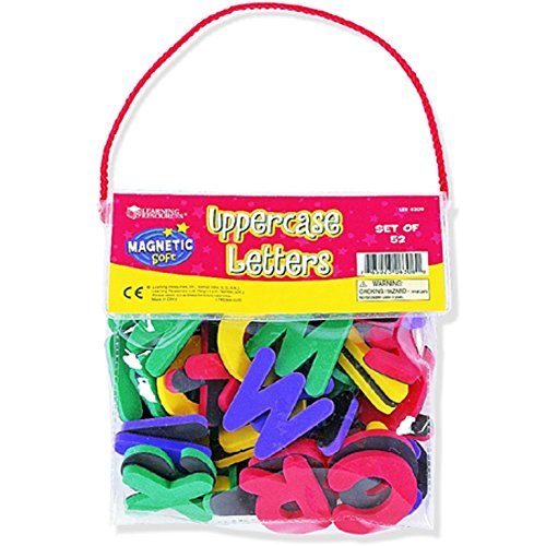 Learning Resources Magnetic Foam Uppercase Letters - 1