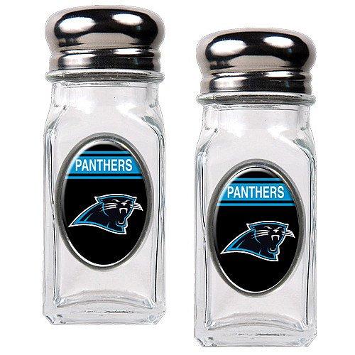 Nfl Carolina Panthers Salt And Pepper Shaker Set With Crystal Coat
