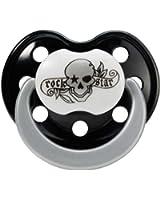 Rock Star Baby Schnuller Tattoo Silikon Größe 2 BPA FREI 90049