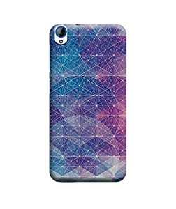 Ebby Premium Back Cover For HTC Desire 820 / 820Q / 820S / 820G+(Designer Case)