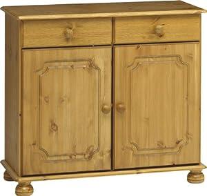 Steens 2-Door Plus 2-Drawer Pine Sideboard