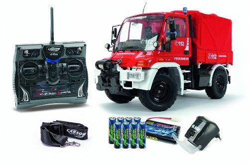 Carson-500707109-112-Unimog-Feuerwehr-100-RTR-Modellbau