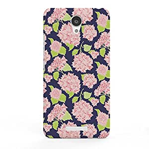 Koveru Designer Printed Protective Snap-On Durable Plastic Back Shell Case Cover for Xiaomi Note 2 - Flower pattern