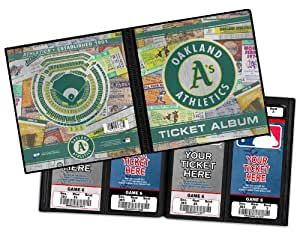 Buy Mlb Oakland Athletics Ticket Album One Size Online At