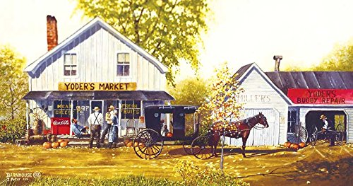 Yoder's Market a 500-Piece Jigsaw Puzzle by Sunsout Inc.