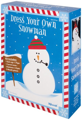 Toysmith Dress A Snowman Kit front-947509