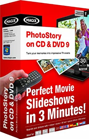 Magix PhotoStory on CD & DVD 9 (PC) [import anglais]