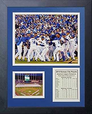 "Legends Never Die ""2014 Kansas City Royals ALCS Champions Celebration"" Framed Photo Collage, 11 x 14-Inch"