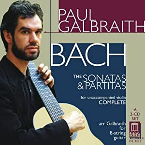 Paul Galbraith Plays Bach: Violin Stas & Partitas