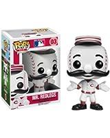 Funko Pop! Major League Baseball: Mr. Red Vinyl Figure