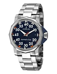 Corum Men's 08296020/V700 Admirals Cup Competition 40 Black Dial Watch