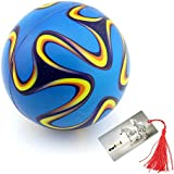 """4"""" Soft Sponge Filled Balls Soccer ball Football- Ideal for Indoor and Outdoor Games"""