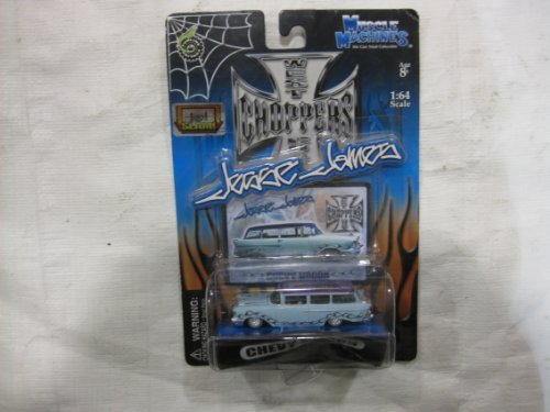 Muscle Machines West Coast Choppers Jesse James Powder Blue Chevy Wagon