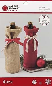 Martha stewart crafts 48 30421 holiday lodge for Martha stewart christmas wine glasses
