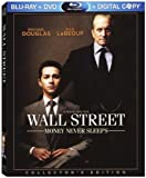 Wall Street: Money Never Sleeps (3-Disc Blu-ray Combo Pack) [Blu-ray, DVD, Digital Copy]