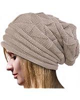 DDLBiz® Mode Femmes Chapeaux Tricotés d'Hiver / Bonnet en Laine Couleur Pure Doux - Confortable