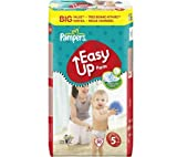 PAMPERS Easy Up Pants (size 5: 12-18 kg) - 1 Economy Pack containing 54 nappies