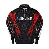 サンライン(SUNLINE) STW-5555CW PRODRY フルジップアップシャツ(長袖)  ブラック M