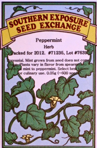 Peppermint Certified Organic Seeds