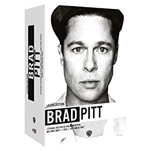 La Collection Brad Pitt - Troie + L'étrange histoire de Benjamin Button + Mr & Mrs Smith + Sept ans